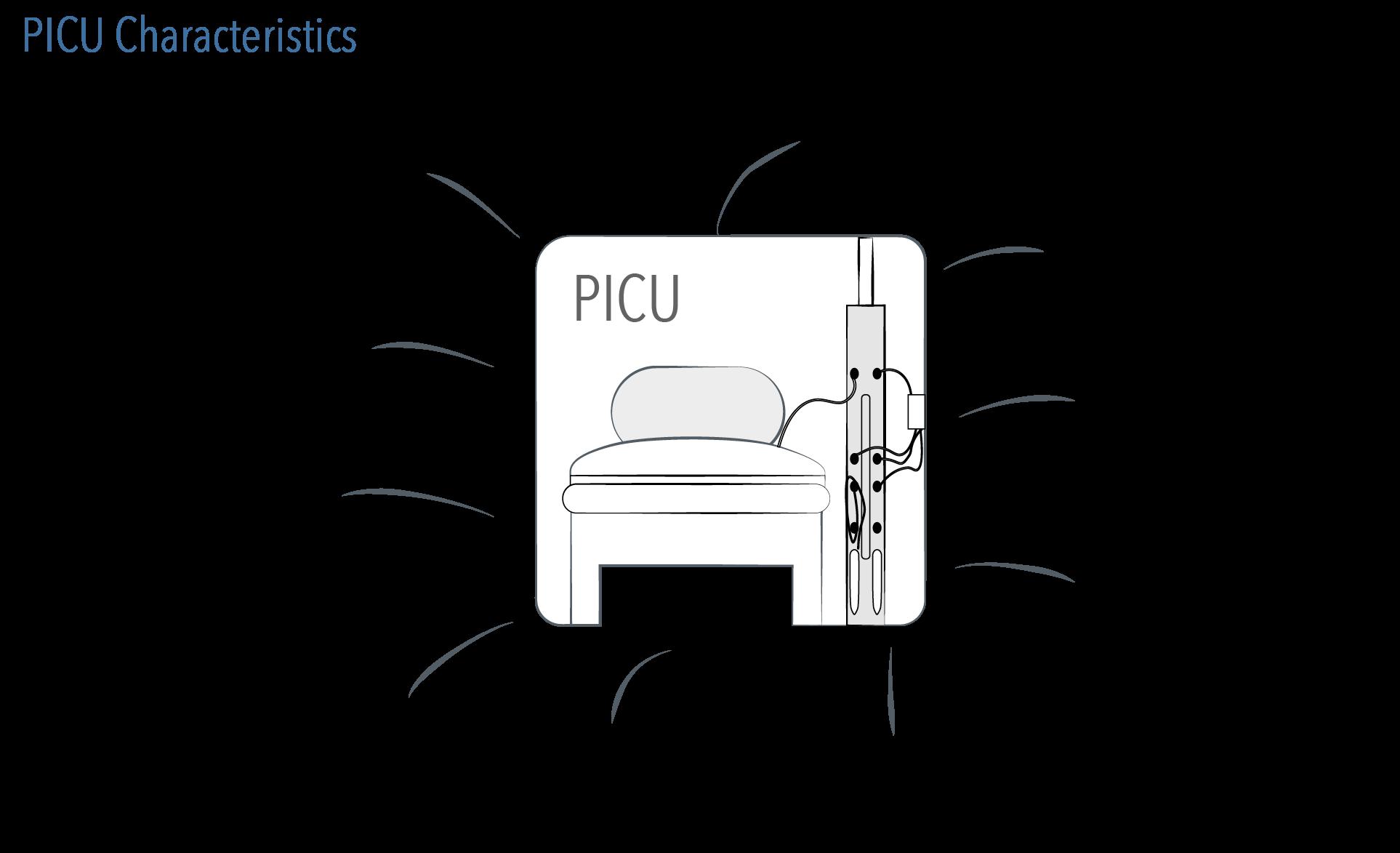 PICU characteristics