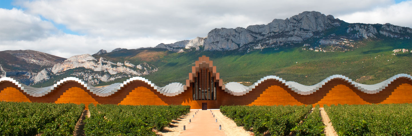Ysios winery, Spain